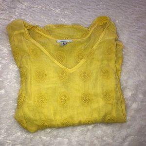 Yellow O'Neill 3/4 length shirt